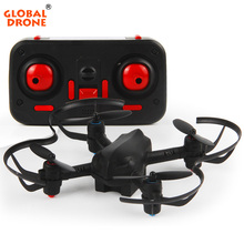Global Drone Mini RC Helicopter Drone 2.4G 6CH 6-Axis Mini RC Quadcopter Air Force Toy Altitude Hold without Camera(China)