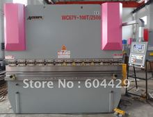 6mm hydraulic plate bending machine,8ft sheet metal bender,3.2 mtr cnc press brake,100 Tons metal plate cnc bending machine