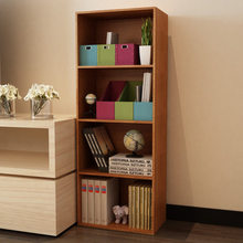 Bookcases Living Room Furniture Home Furniture Wood Bookshelf Wholesale  Minimalist Cabinet Display Book Stand Modern 40*23*106cm