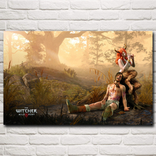 Succubus The Witcher 3: Wild Hunt Video Game Art Silk Poster Home Decor Printing 12x19 15x24 19x30 22x35 Inches Free Shipping