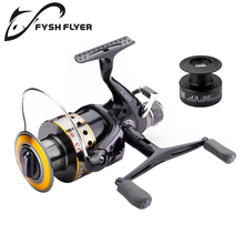 Fishing Reel Carp Spinning Reel Carbon Front and Rear Drags 18KG Max Drag 9+1 BB Metal Spool Sea Boat Reel Double Knobs(China)
