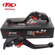 FXCNC Aluminum Adjustable Motorcycles Brake Clutch Levers For Ducati Diavel Carbon XDiavel Panigale 1299 1199 959 899 Panigale(China)