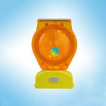 Factory price high brightness LED Solar Powered Traffic Barricade Warning light led traffic light