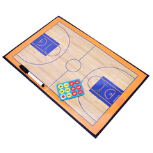 Hot Sale Magnetic Baketball Strategy Board Professional Tactics Board basketball Coaching Dry Erase Clipboard Board