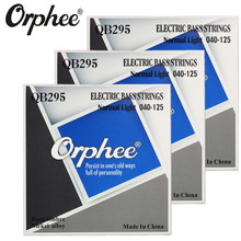 Original Orphee QB295 040-125 Electric Bass Strings 5 Strings bass Normal light deep timbre nickel alloy guitar Strings 3 set(China)