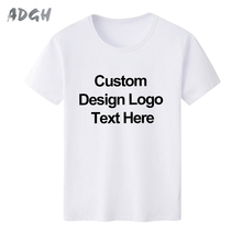 Fashion Logo Custom Short Sleeve Printed T-shirts Professionally Customized Print Logo Graphic Men T-shirts Wholesale(China)