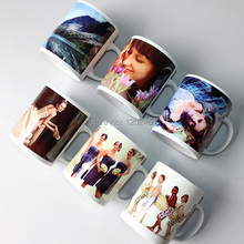 11oz ceramic Sublimation Mug,white blanks coated mug,photo mug wholesale, personalized Mugs(China)