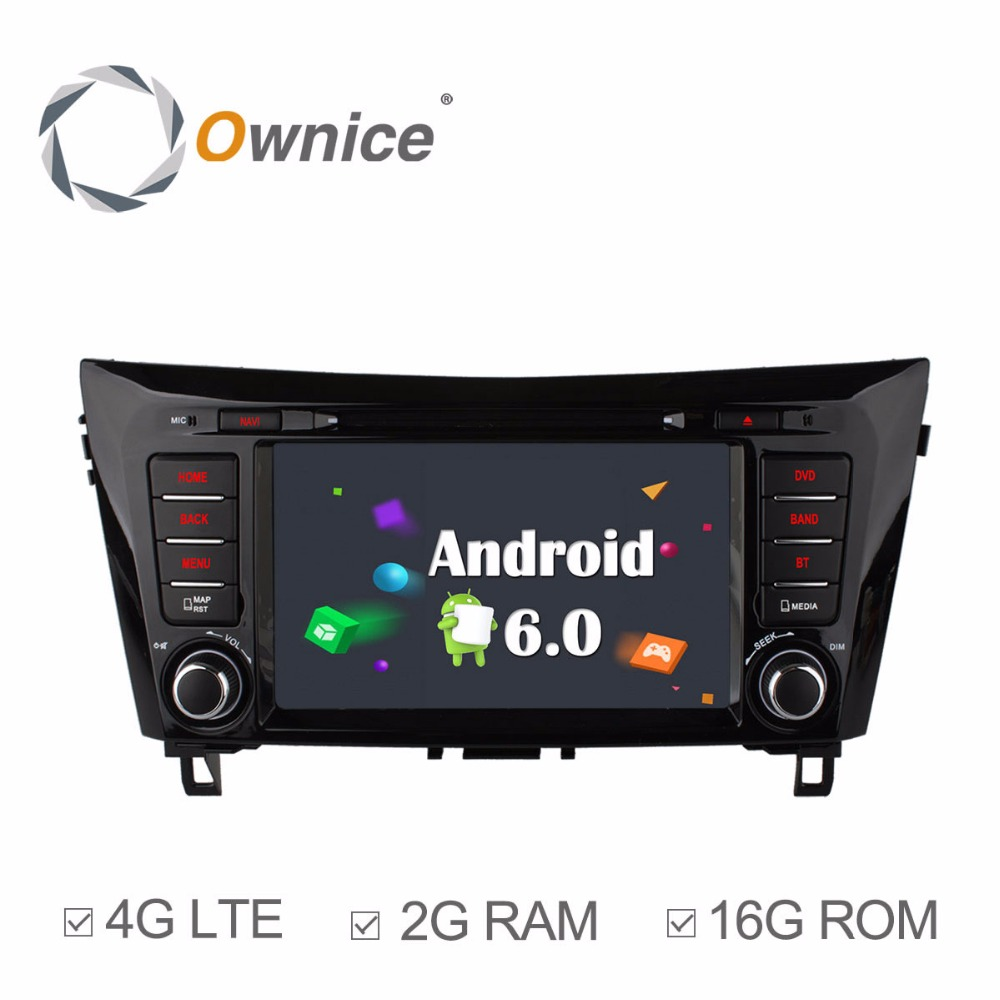 Aliexpress com buy ownice c500 1024 600 4 core android 6 0 car dvd player for nissan x trail