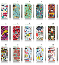 2016 Newest Hybrid Case British Style Bottle Bus Design White Hard Cases For IPHONE4 4S Plastic Hard Phone Cases Free Shipping