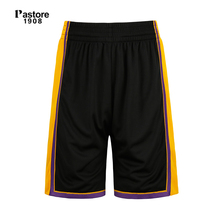 Pastore1908 brand basketball shorts men quick dry breathable running sports shorts europe size S-4XL team name custom jersey305B(China)