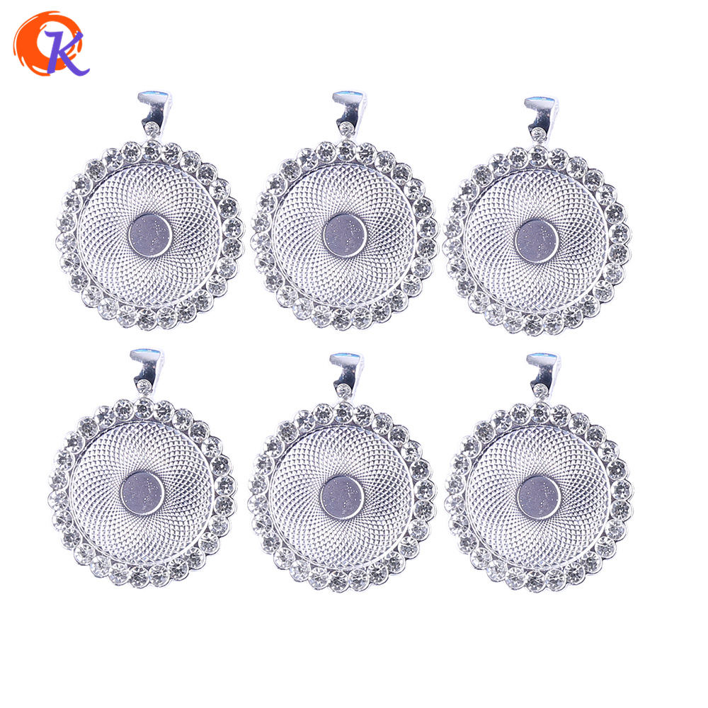 JEWELLERY FINDINGS Stunning Silver Alloy Connectors Beads 36MM