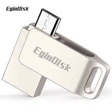 Metal Micro Usb Pen Drive 64gb 32gb 16gb 8gb Otg Usb Flash Drive  Android Smartphone Storage Devices Custom Logo Usb Stick
