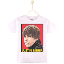 2017 Special Discount Kids Clothes Children T-shirt Cotton Justin Bieber JB JBiebs Boy T Shirts Girl Tops Baby Tee Free Shipping