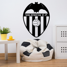 Art Design Spanish Valencia CF Football Marks Wall Sticker Vinyl Removable Soccer Club Signs Home Decor Wall Decals For Bedroom