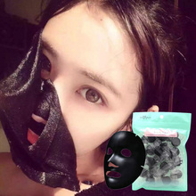 30Pcs DIY Compressed Mask Paper Facial Natural Bamboo Charcoal Mask Paper Fiber Face Care Mask Paper Sheet Hot