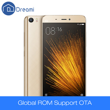 Dreami Original Xiaomi Cellphone Mi 5 Xiaomi Mi5 Prime 3GB 64GB Snapdragon 820 3000mAh NFC Dual Sim 4K Video M i 5 Mobile Phone