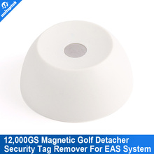 Super Golf Detacher Security Tag Detacher Golf Tag Detacher EAS Tag Remover Magnetic Intensity 12000GS Color Milky white