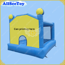 Small Bouncy Castle, Mini Inflatable Bounce House for Kids, Anti-UV PVC Tarpaulin Tramplines Bouncy Castle(China)