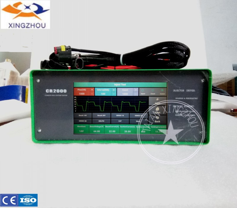 cr2000 common rail injector tester