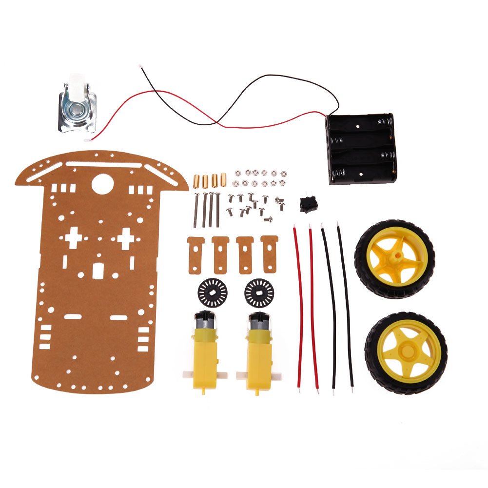 KR0002 Tri-Tracked Tank Robot Kit with Ultrasonic Sensors