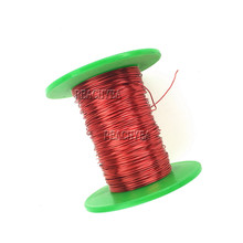 1.0mm To 1.7mm Qa-1-155 Red Magnet Wire Enameled Copper Wire Magnetic Coil Winding(China)