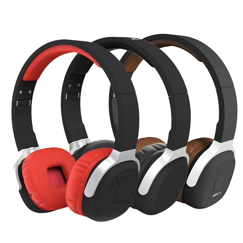 2017 New Sport Pedometer NFC Foldable Wireless Bluetooth Stereo Headset With Mic Handsfree Headphone For iPhone Samsung<br><br>Aliexpress