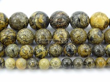 Natural Artistic Ja-sper Gems Stone Round Spacer Beads 15.5'' 4mm 6mm 8mm 10mm 12mm for Jewelry Making Crafts 5 Strands/Pack(China)