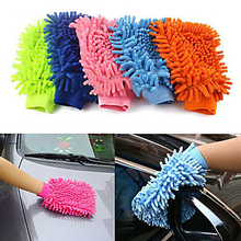 Super Mitt Microfiber Car Wash Washing Cleaning Gloves Car Washer Wholesale 8OZQ