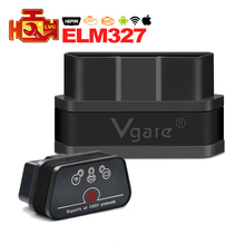 High Quality Vgate iCar2 ELM327 Wifi OBD2 Diagnostic Tool for IOS iPhone iPad Android Vgate icar wifi mini ELM 327 OBDII scanner