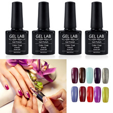 GEL LAB UV Gel Nail Polish 10ml UV Curing Gel Varnish Nice Soak Off Gel Lacquers Pick 1 from 177 Colors 1437-1476