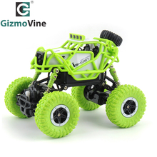 GizmoVine RC Car 1:43 R/C monster truck Mini RC Rock Crawlers 2.4Ghz Radio Remote control climb car Off-Road Model Vehicle Toys(China)