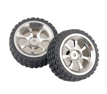 Buy Free 4PCS 1/10 RC On-road Car Tires Tyre Metal Wheel Hubs RV Touring Car Tire Spare Parts 1/10 Scale RC Car Mo for $32.14 in AliExpress store