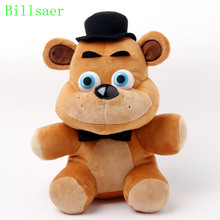 Billsaer new 25cm Five Nights at Freddy's 3style plush Bonnie china foxy freddy doll toy Furnishing articles Children's gift