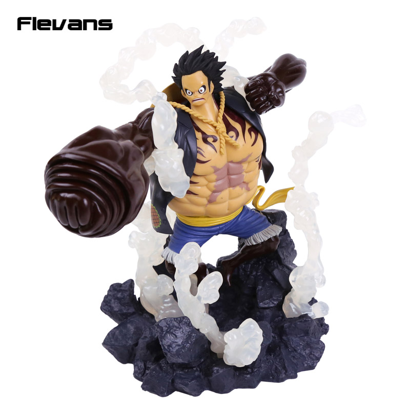 Anime One Piece Banpresto Figure Colosseum Champion 2016 Gear Fourth Monkey D Luffy PVC Figure Collectible Model Toy Boxed<br>