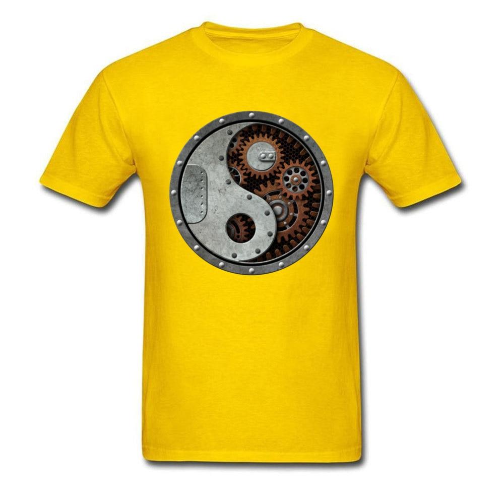 Industrial Steampunk Yin Yang_yellow