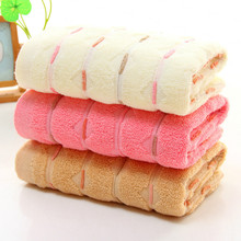 JSZLMY 34*75cm Cotton Towels Luxury Soft Fiber Cotton Face Hand Decorative Face Bathroom Hand Towels Beach Bathroom Towels 7D