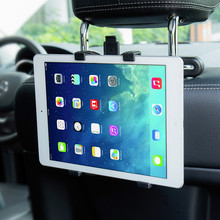 "KISSCASE 7""-11"" Car Back Headrest Mount Stand Holder For iPad Mini 1 2 3 4 5 Air 2 360 Degree Rotate Tablet Accessories Bracket(China)"