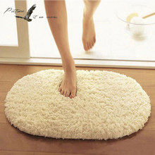 Buy Bathroom Carpets Absorbent Soft Memory Foam Doormat Floor Rugs Oval Non-slip Bath Mats 40x60cm for $14.39 in AliExpress store