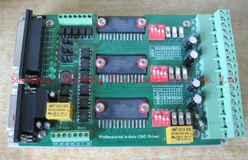TB6560 3A 3 Axis CNC Stepper Motor Driver Board Controller by Express for Engraving machine for MACH3 GE014C<br>
