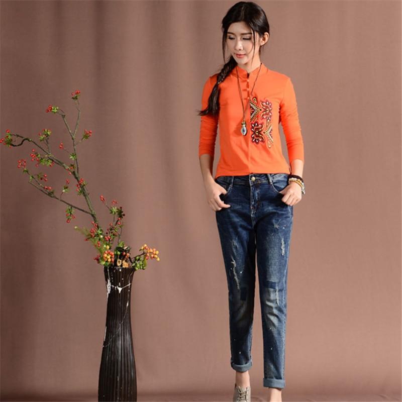 Jeans Women Dark Blue Mid Waist Elastic Cotton Skinny Jeans Soft Pencil Pants Zipper Fly Full Length Harem Denim Jeans M397Одежда и ак�е��уары<br><br><br>Aliexpress