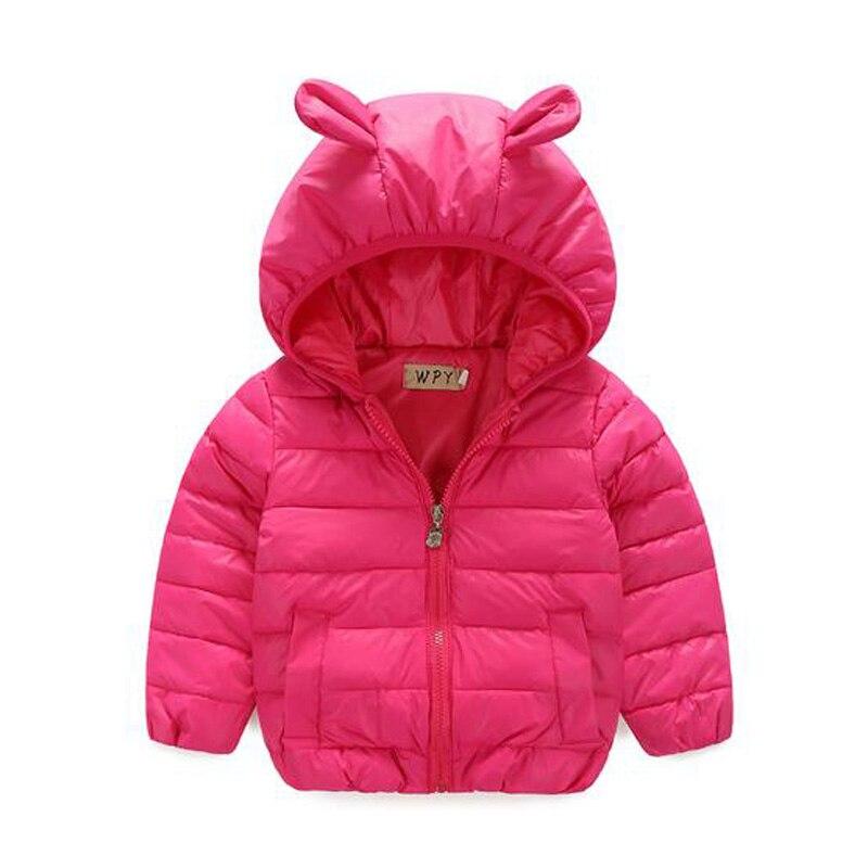New Girls Coat Childrens Winter Jackets Duck Down Girls Winter Parka Rabbit Clothing Kids Winter Outerwear Warm Thick CoatОдежда и ак�е��уары<br><br><br>Aliexpress