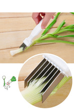 2017 Kitchenware Vegetable Knives Magic Shredded Green Onion Knife Cut Spring Onion Device Kitchen Tool Kitchen Cooking Tools
