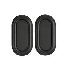 New 1 Pair Bass Speaker Plate Passive Radiator Auxiliary Bass Rubber Vibration Plate 78x41mm
