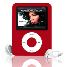 "Portable 6 Colors 1.8"" 65K TFT LCD Screen 8GB MP3 Player Media Video Radio FM 3rd Generation Digital Audio Player"