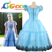 Free Shipping COS Cosplay Costume Alice in Wonderland Alice Dress Halloween Christmas Uniform Game