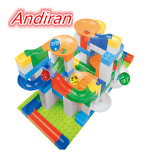 2017 Hot 94PCS Crazy Ball Large Pellets Plastic Assembled Ball Blocks Track Children's Education Compatible  Duplo