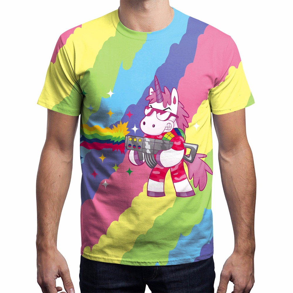 Ferocious Unicorn T-shirt