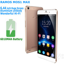 "6010mAh Ramos MOS1 max 6.44"" 1920x1080 2.5D Screen 3GB RAM 32GB ROM MTK6753 Octa Core phone LTE 4G Smartphone Mobile cell phone(China)"