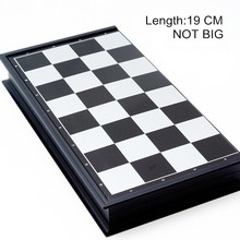 1Set 19.5*19.5 International Word Chess Game Medieval Folding Chess Pieces/ Complete Chess Set Entertainment T28