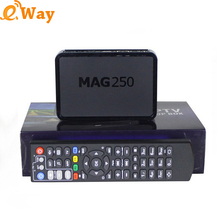 5pcs /lot Mag 250 Linux tv Box Linux Operating System Set Top Box not include Iptv Account Mag250 media player Mag250 Server box(China)